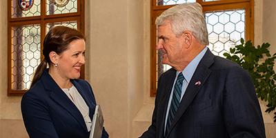 Jihlavu navštívil americký velvyslanec